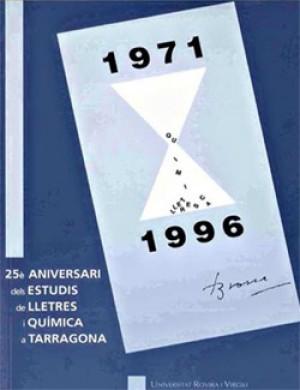 25è aniversari dels estudis de Lletres i Química a Tarragona