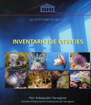 INVENTARIO DE ESPECIES. Parc subaquàtic.Tarragona
